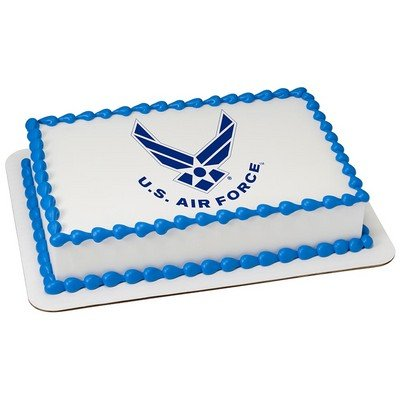 Price comparison product image U.S. Air Force Licensed Edible Cake Topper 8431 by DecoPac