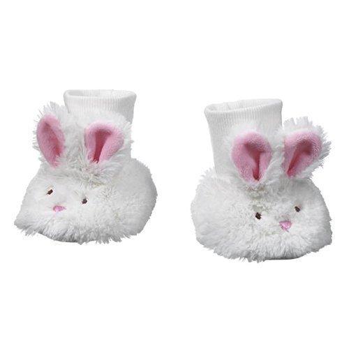 Ganz Baby Plush Bunny Slippers 0-12 -
