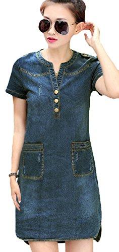 Buy maxi dress and denim shirt - 6