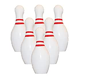 """Giant Inflatable Bowling Set - 39"""" Pins and 23"""" Ball"""