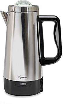 Capresso 403.05 Perk Coffee Maker, Metallic