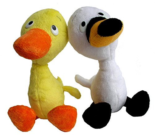 merrymakers-duck-goose-plush-doll-pair-9-inch