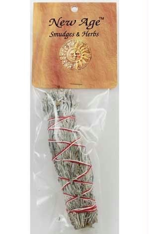 Small Blue Sage Smudge Stick 5'' (RSBS) -