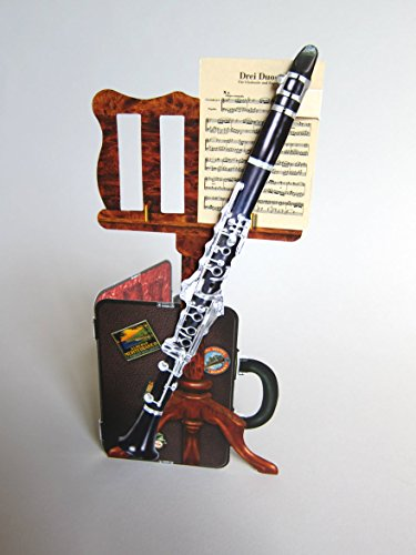 3D Greeting Card - Clarinet w/ Case by The Music Company