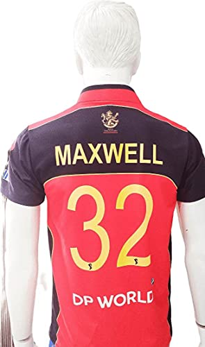 IPL Jersey Cheap price & Best Quality RCB 2021 IPL Home Jersey (Half Sleeves)