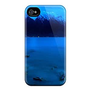 New Style Casecover88 Hard Cases Covers For Iphone 6- Lake At Night