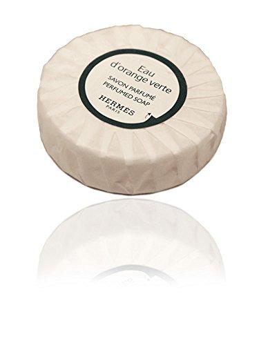 - 5 Hermes Eau d'Orange Verte Travel Sized Bath Soaps Individually Wrapped 8.5 oz (5 x 1.7 oz)