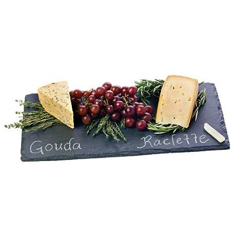 Svelte Slate Chalkboard Cheese Board  sc 1 st  Amazon.com & Amazon.com: Svelte Slate Chalkboard Cheese Board: Home D?cor Accents ...