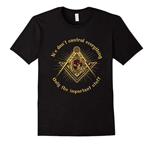 Mens The Masonic Store: Freemason - IMPORTANT STUFF T-Shirt Gift 2XL Black