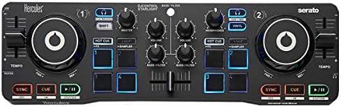 Hercules DJ Control Star Light de 2 Deck controlador DJ + ...