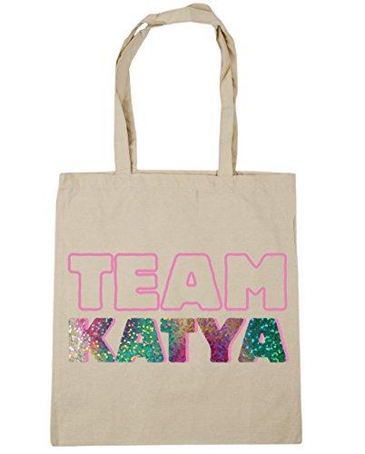 Shopping Gym 10 litres katya Natural x38cm Beach HippoWarehouse 42cm Tote Team Bag IwnqS