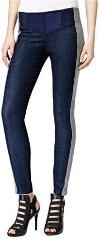 Guess Women's Sporty Chic Side-Stripe Denim Jeggings