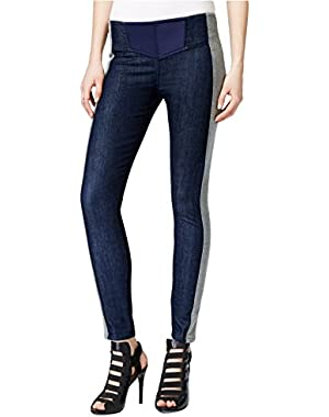 Guess Women's Sporty Chic Side-Stripe Denim Jeggings!