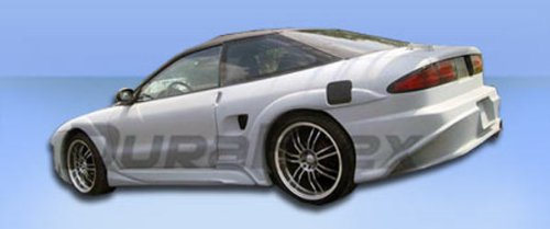1993-1997 Ford Probe Duraflex Millenium Wide Body Side Skirts Rocker Panels - 2 Piece