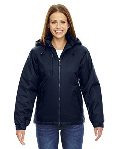 North End Ladies Hi-Loft Insulated Jacket. 78059 - Large - Midnight - Midnight Jacket Taffeta