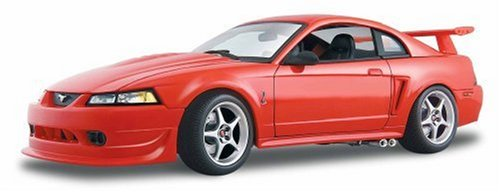 Maisto 1:18 Scale 2000 Ford SVT Cobra R Diecast (Ford Mustang Diecast 1 18)