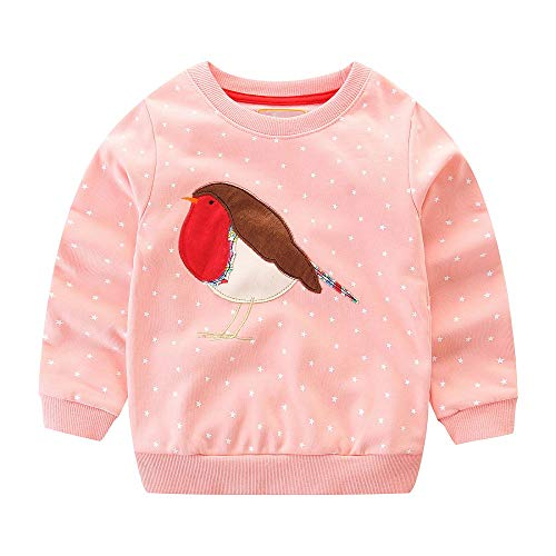 Hongshilian Unisex Kids Cute Cartoon Cotton Sweater for sale  Delivered anywhere in USA
