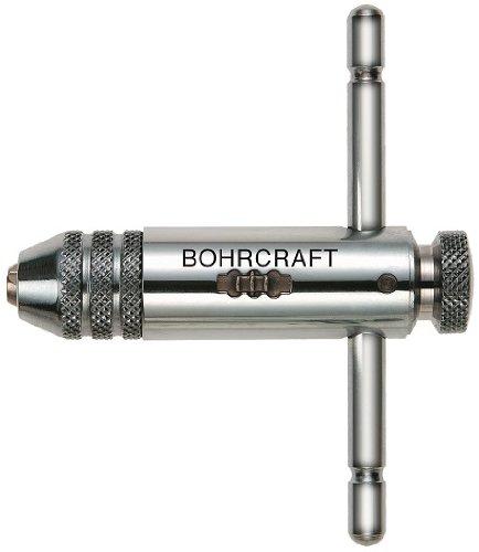 Bohrcraft Werkzeughalter mit Knarre kurze Ausfü hrung, Nr. 2 fü r M 5 - M 12 in SB-Tasche, 1 Stü ck, 43020700002