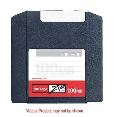 Iomega 10PK ZIP 100MB SLEEVE PC/MAC (32605)