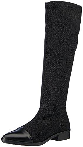 Caviar Boston Black 01cvbt NR w Boots Rapisardi Women's E703 Black Black ww4Y8q