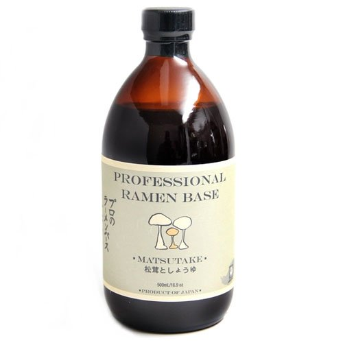 Matsutake Mushrooms (Matsutake Mushroom & Shoyu Professional Ramen Base (500 ml))