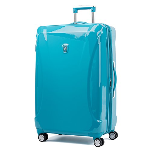 Atlantic Lightweight Luggage Hard Shell Suitcase, 28in, Turquoise Deal (Large Image)
