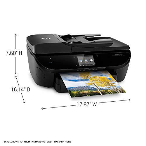 HP Envy 7640 Wireless All-in-One Color Inkjet Photo Printer (E4W43A)