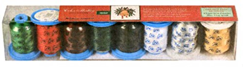 Robison-Anton Holiday Polyester Thread Set