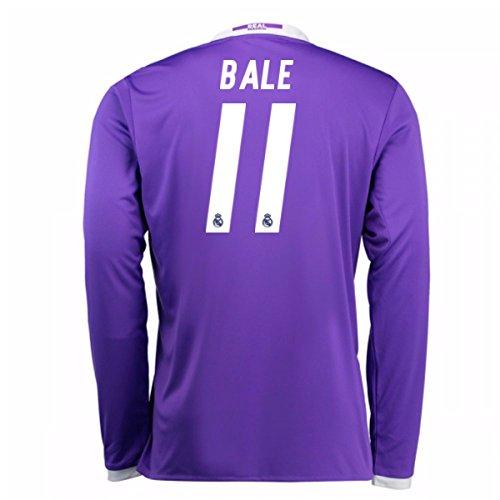 2016-17 Real Madrid Away Longsleeve Shirt (Bale 11) by UKSoccershop