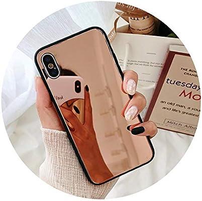 Amazon.com: Makeup - Carcasa de TPU para iPhone 8 y 7 Plus ...