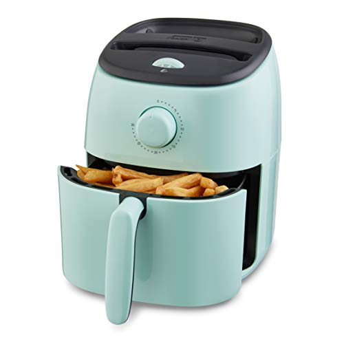 Dash DCAF200GBAQ02 Tasti Crisp Electric Air Fryer Oven Cooker with Temperature Control, Non-stick Fry Basket, Recipe…