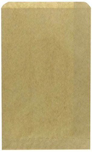 kraft-paper-bags-flat-merchandise-bags-5-x-75-inch-200-pack