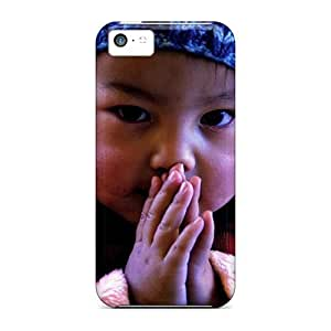 Anti-scratch And Shatterproof Tibetan Kid Phone Cases For Iphone 5c/ High Quality Cases