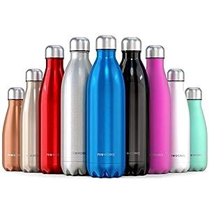 Proworks Bottiglia Acqua in Acciaio Inox, Senza BPA Vuoto Isolato Borraccia Termica in Metallo per Bevande Calde per 12… 4 spesavip