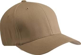 Original FlexFit Port Authority Cap Hat L/XL- (Many Colors Available), Khaki