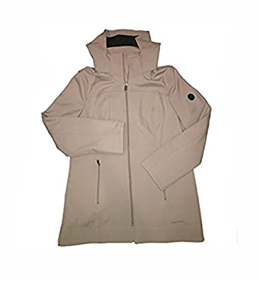 Andrew Marc Ladies Long Softshell Jacket - Medium - Thistle ( Beige)