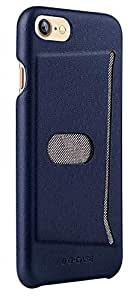 Apple iPhone 7 G-Case Jazz Series With Card Slot PC Back Case Cover - Blue