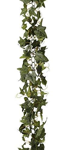 Darice Ivy Chain Green, 6 Feet Garland