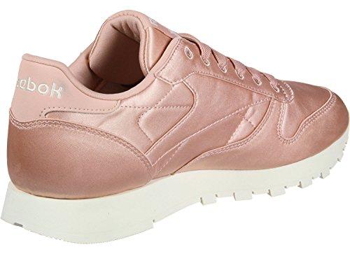 10 US Satin Sneaker EU 42 Leather Classic Reebok 5 Damen qwfFS