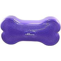 Ball Dynamics Int. LLC K9FITbone Disque d'Equilibre en Forme d'Os pour Chien Violet 58 x 29 x 10 cm