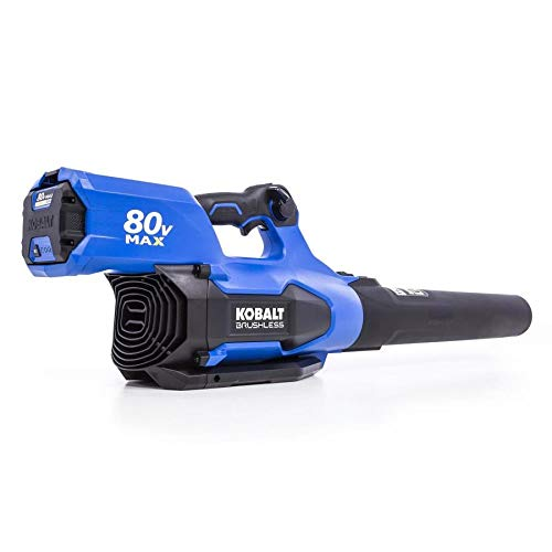 Kobalt Baretool 80-Volt Max Lithium Ion 630-CFM Brushless Cordless Electric Leaf Blower Tool Only