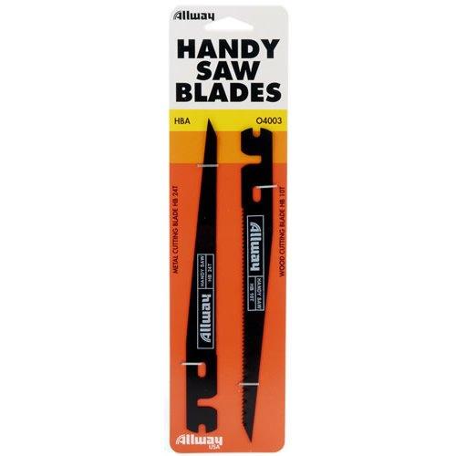 Allway Keyhole Saw Blades 10 Teeth, 24 ()