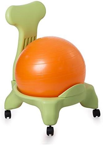 Kikka Silla Active (Marco Verde – Bola Naranja) – Silla ergonómica ...