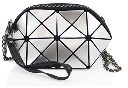 Holder Silver Body Girl Prism Designer Gossip Glossy Bag Design Phone Mini Chain Inspired Strap Key Shoulder Bag Cross Side ROnXwq