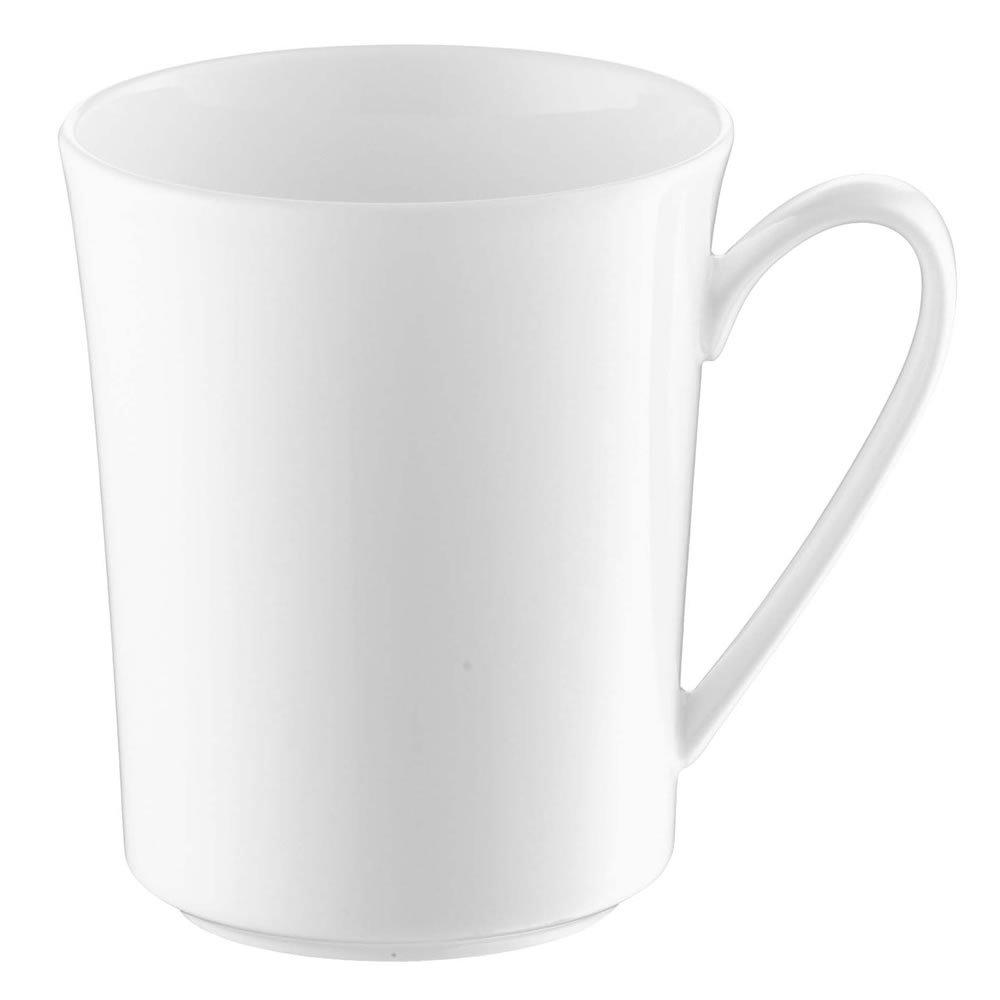 ROSENTHAL JADE weiß Bone China Henkelbecher Becher Kaffeebecher Teebecher 0,4l