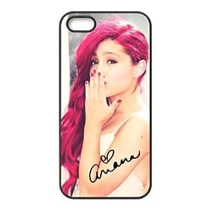 Customize American Famous Singer Ariana Grande Back Case for iphone 5 5S JN5S-2457 Kimberly Kurzendoerfer