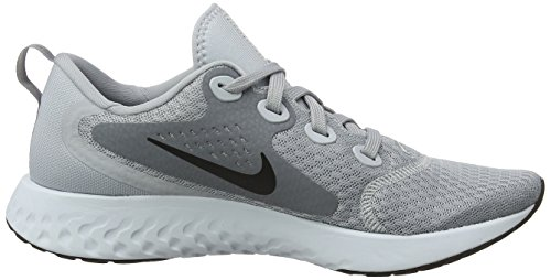 Black de Cool Platinum WMNS Nike Gris React Pure 003 Chaussures Wolf Femme Fitness Legend Grey Grey IFIxq4nwPv