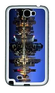 cover customized Queensland Brisbane Australia TPU White case/cover for samsung galaxy N7100/2
