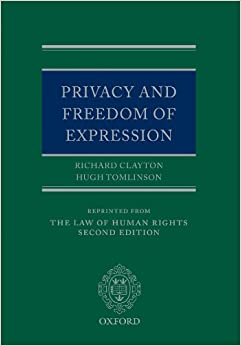 Privacy and Freedom of Expression (Law of Human Rights)