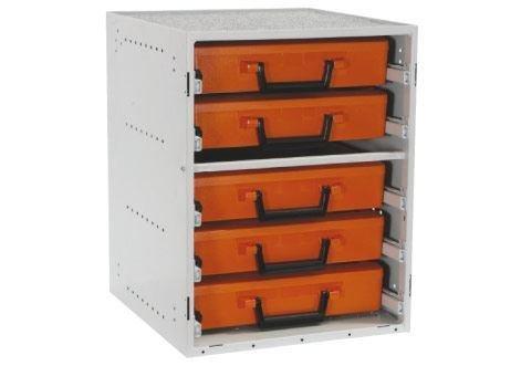 rola-case Tradesman 5ケース組織システム B0777S6P77